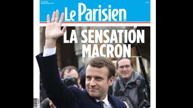 French newspaper Le Parisian headline reads