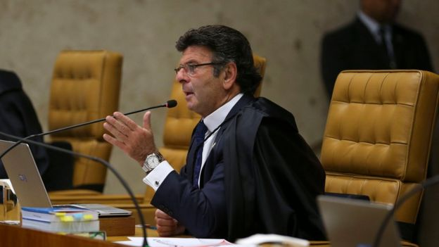 Fux no plenário do STF