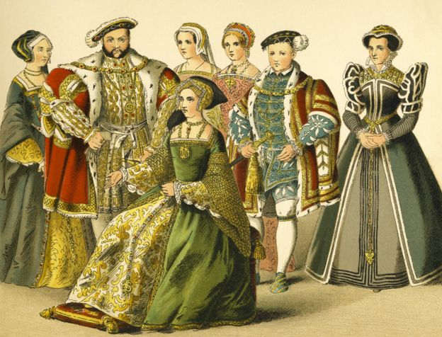 Генрих VIII с семьей