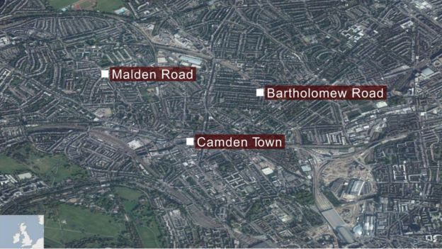 Map of Camden