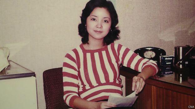 已故歌手邓丽君。
