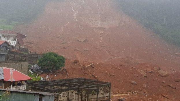 Deslave en Freetown