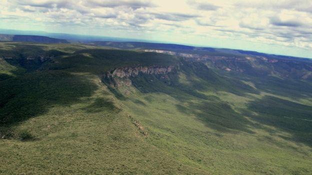 Vista da caatinga