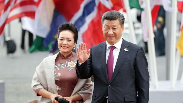 習近平和夫人出席20國集團峰會