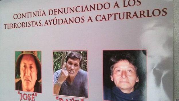 Carteles de personas fugitivas