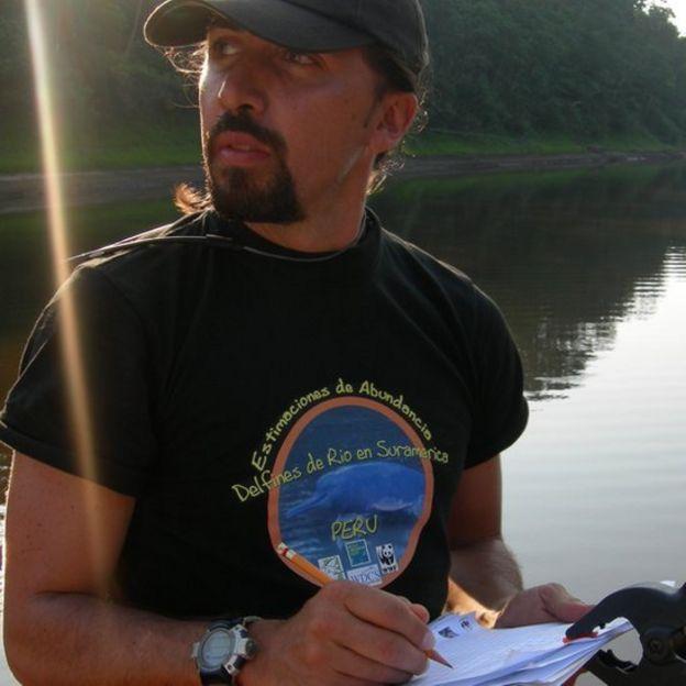 Fernando Trujillo Foto: Fundación Omacha