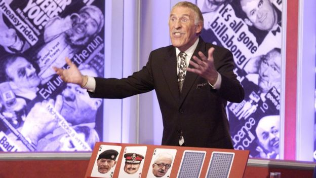 Bruce Forsyth on Have I Got News For You