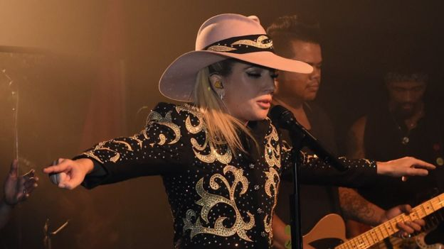 Lady Gaga en Nashville