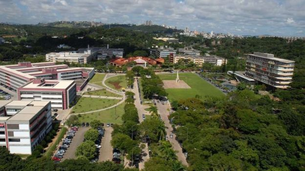 Campus da Universidade Federal de Minas Gerais