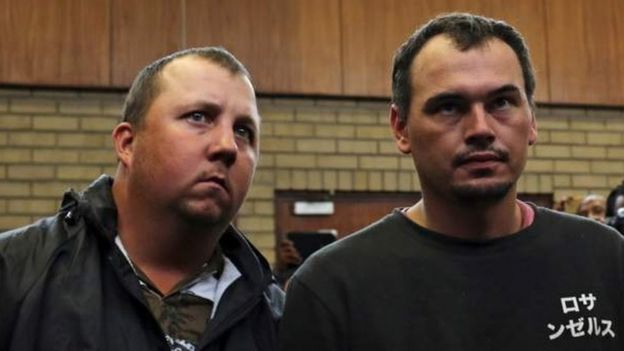 Theo Martins Jackson and Willem Oosthuizen,