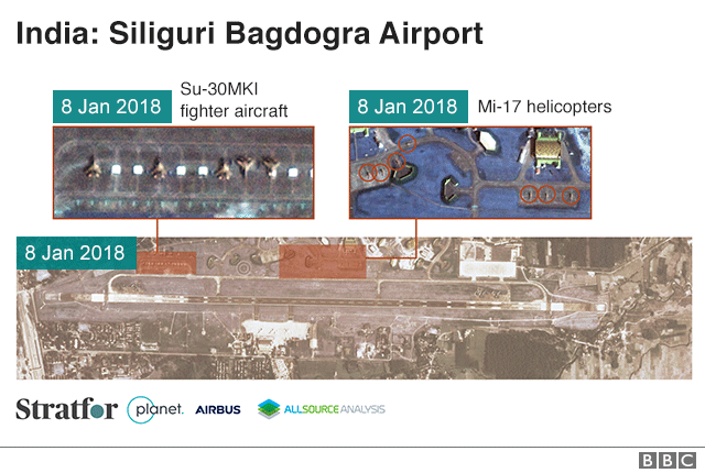 Stratfor analysis of India's Siliguri Bagdogra Airport
