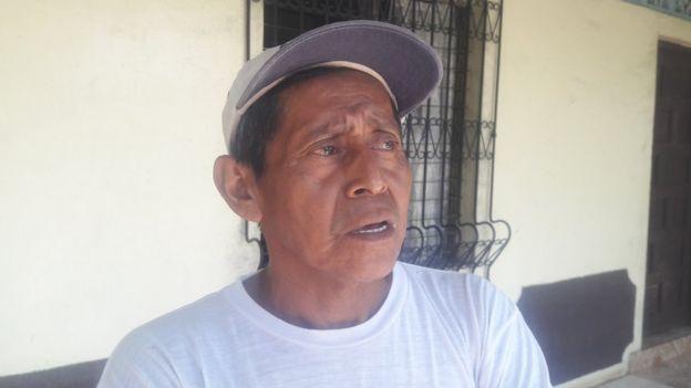 Profesor Ricardo Vivas, exmilitante del FSLN en Monimbó.
