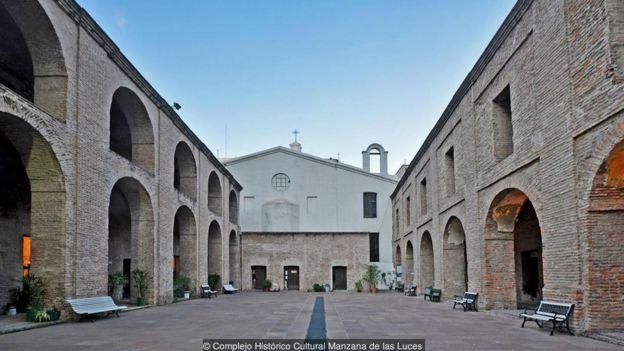 Khu nhà Manzana de las Luces được các giáo sỹ Dòng Tên của Tây Ban Nha xây vào thế kỷ 16