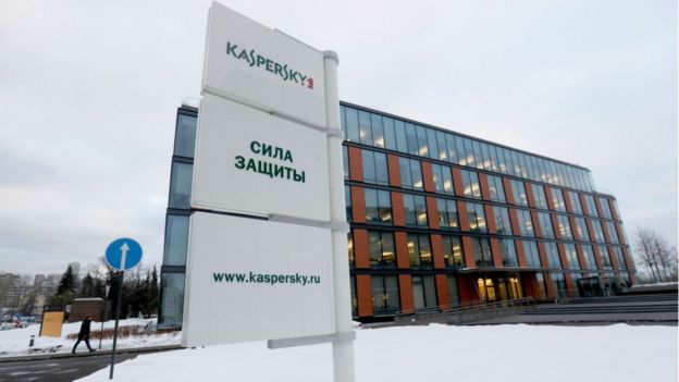 oficinas de Kaspersky Lab