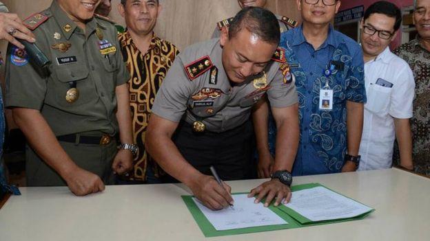 Tangerang, islam, polisi
