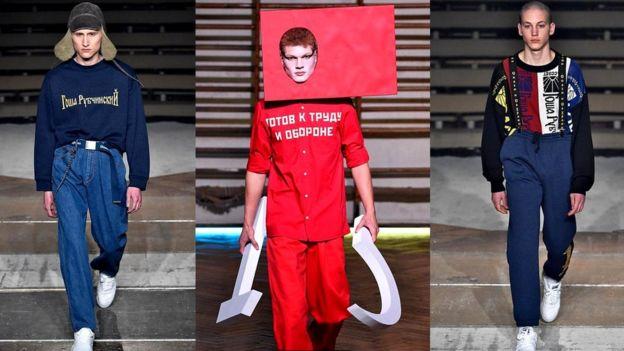 Работы Гоши Рубчинского привлекли внимание гигантов моды - от Comme des Garçons до Burberry