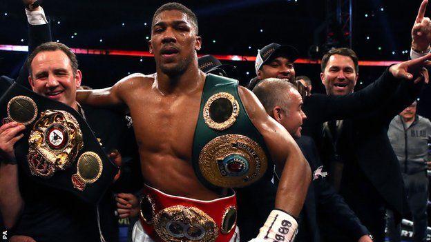 Joshua se encuentra invicto en 19 peleas como profesional.