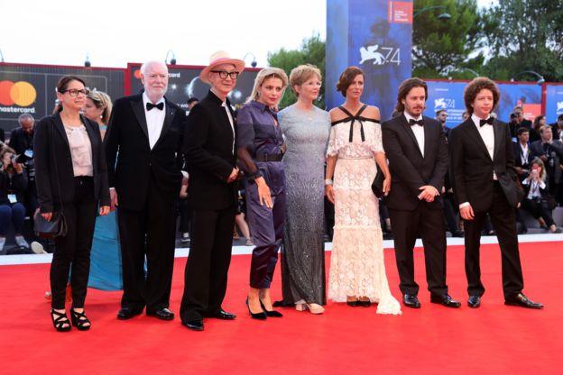 74. Venedik Film Festivali jürisi