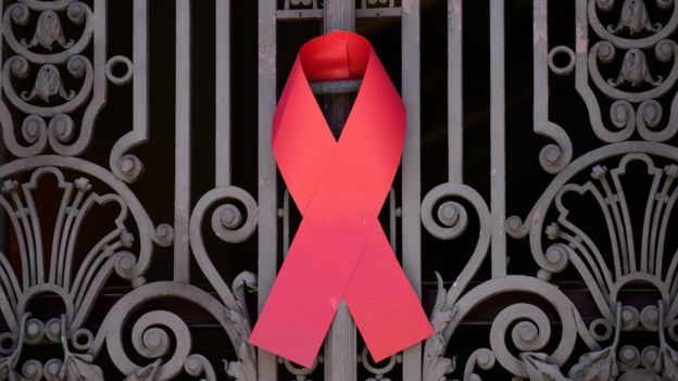Símbolo mundial del VIH