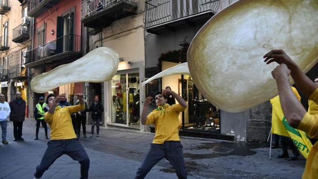 Ось так святкували неаполітанські піцайоло