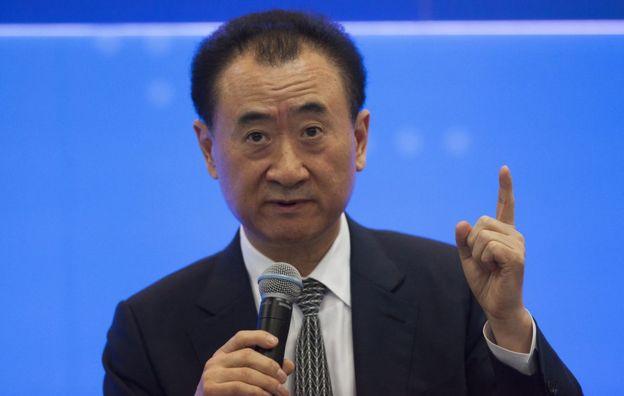 Wang Jianlin, Chairman of Dalian Wanda Group, and China's richest man, attends the 9th Asian Financial Forum in Hong Kong, China, 18 January 2016