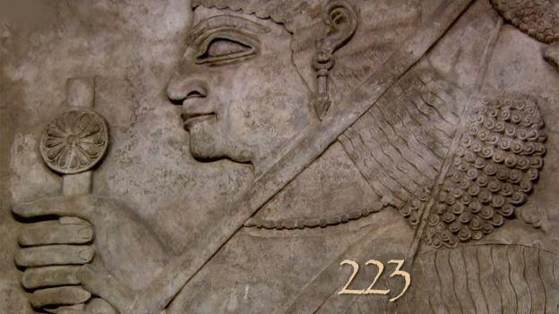 Tallado babilonio