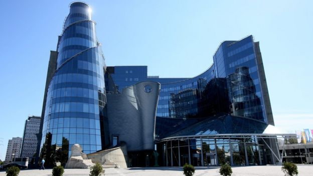 TVP headquarters in Warsaw - file pic