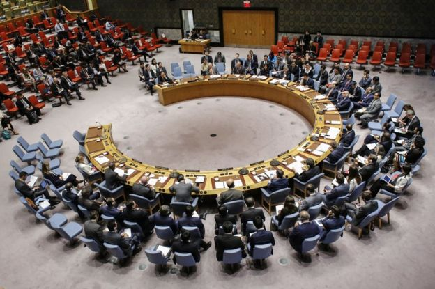 UN Security Council meeting in New York, 4 September