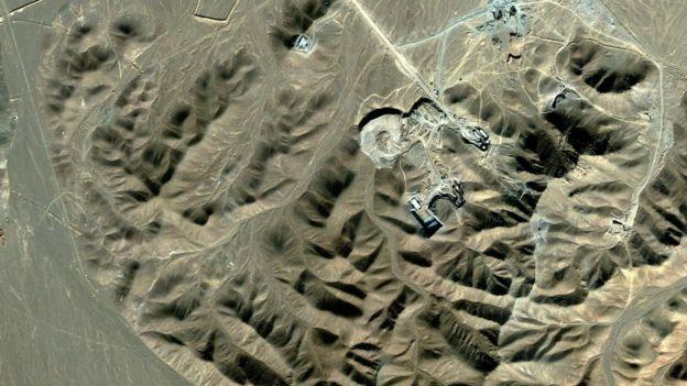 Бывший завод по обогащению урана Фордо, фото 2009 года