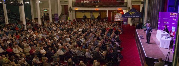 Nigel Farage addresses supporters