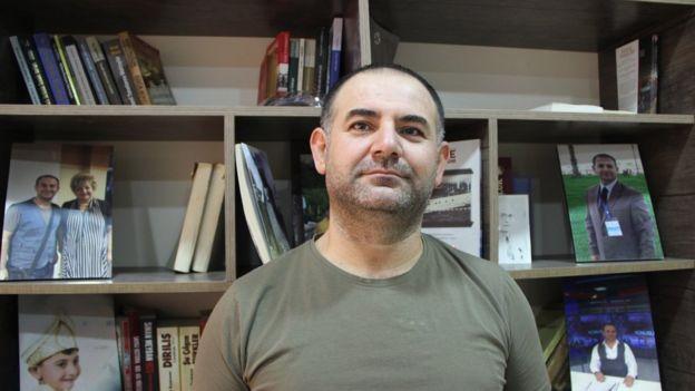 Türkmen gazeteci Özdemir Hürmüzlü