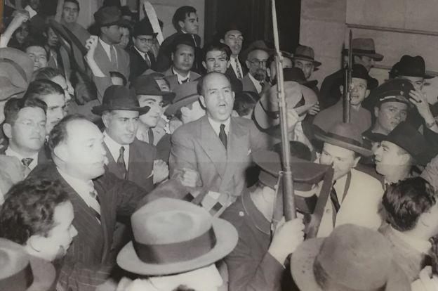 Primeras imágenes del Bogotazo