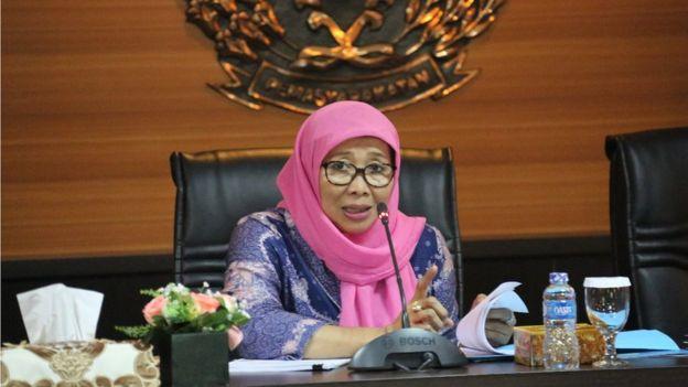 Sekretaris Direktorat Jenderal Pemasyarakatan Sri Utami
