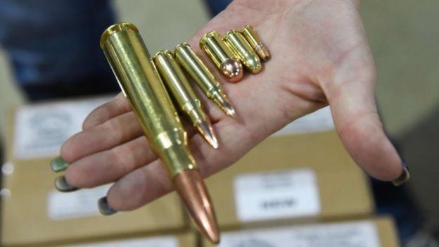 Balas en el Florida Gun Show