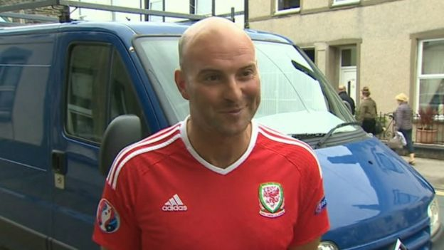 Wales Fans On Sacrifice To Live The Euros Dream Bbc News