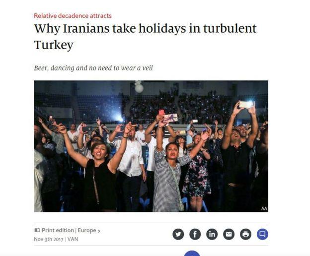 Economist'teki makale