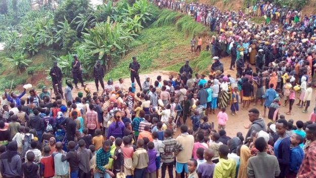 Wakimbizi katika kambi ya Kiziba