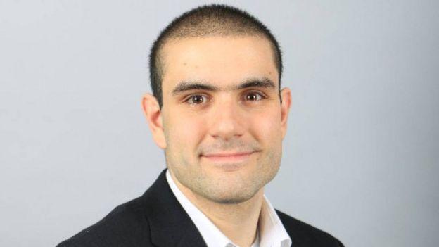 A photo of Alek Minassian on LinkedIn