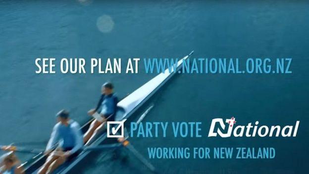 Partai Nasional, Selandia Baru