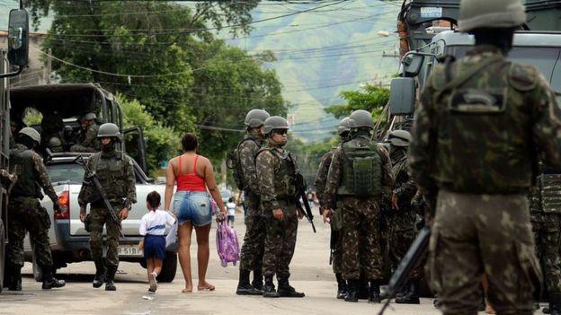Ação do Exército no Rio em 2018
