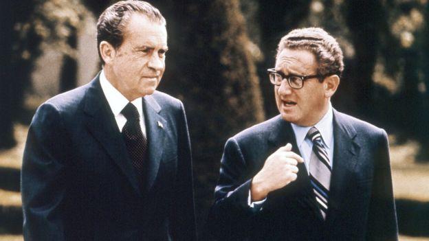 Tổng thống Richard Nixon và Cố vấn an ninh quốc gia Henry Kissinger, tháng Năm năm 1972