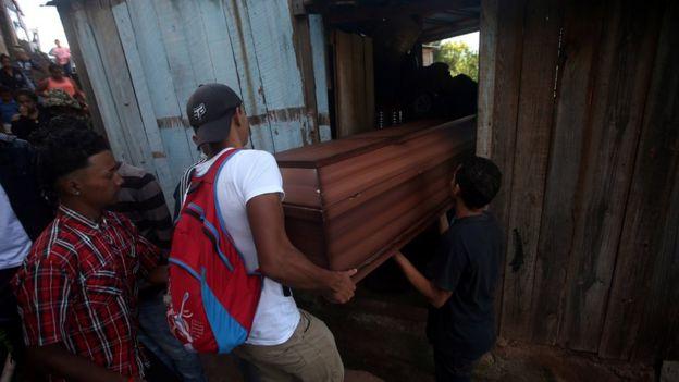 Kimberly Fonseca, de 19 años, murió de un disparo durante una de las protestas.