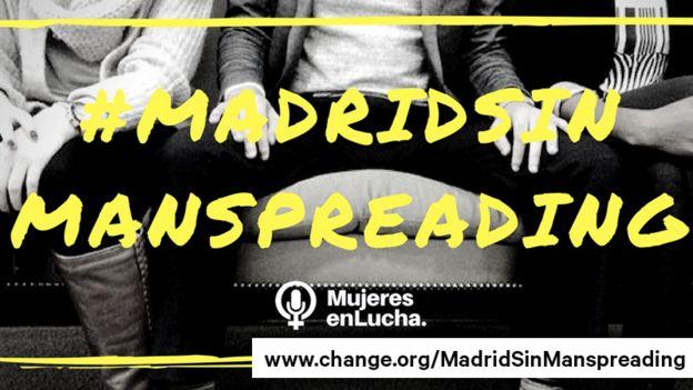 El afiche con el que hicieron la campaña