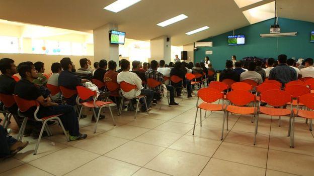 Imagen del centro de atención para el inmigrante La Chacra.