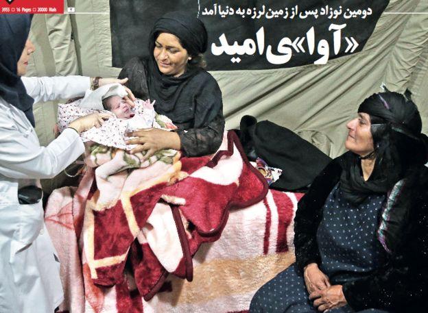 روزنامه های تهران: دعوا بر سر مسکن مهر یا نجات زلزله زدگان؟