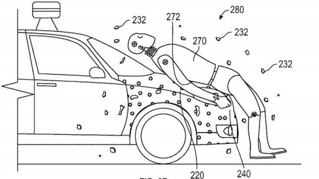 Google sticky car