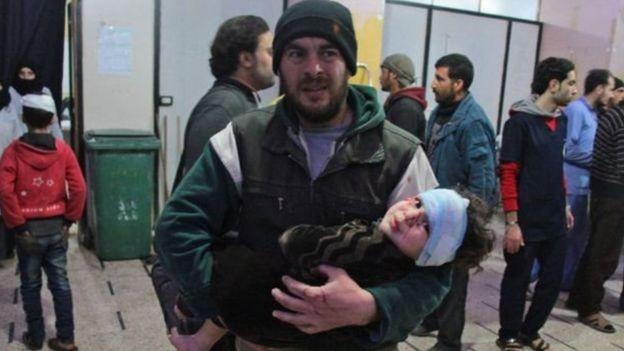 ذكر المرصد السوري لحقوق الانسان من مقره في بريطانيا إن