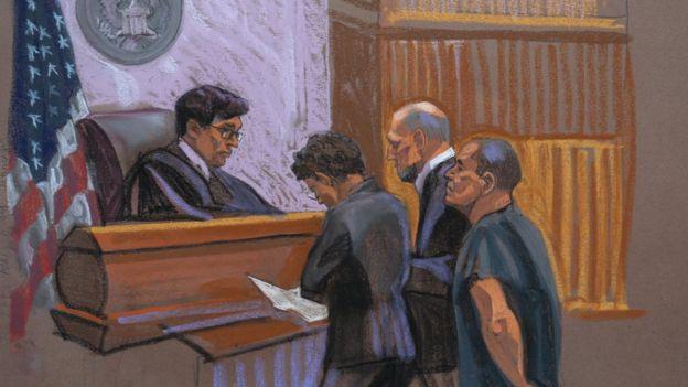 El Chapo en juicio en EE.UU.