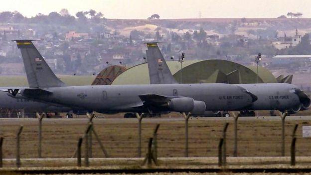 La Base Aérea de Incirlik se encuentra al sur de Turquía.