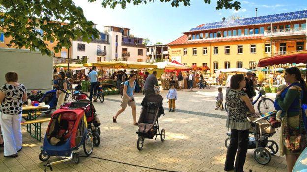 Mercado de Vauban (Foto: Distrito de Vauban)